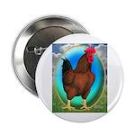 """Broiler Opal Chicken 2.25"""" Button"""