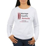 Marriage Equality Kentucky Women's Long Sleeve T-S