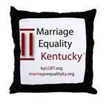 Marriage Equality Kentucky Throw Pillow
