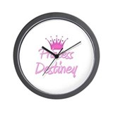 Princess Destiney Wall Clock