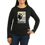 Join the Navy Women's Long Sleeve Dark T-Shirt