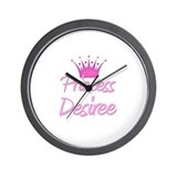 Princess Desiree Wall Clock