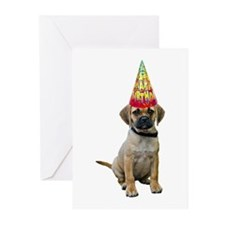 Puggle Birthday Cards (Pk of 20)