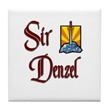 Sir Denzel Tile Coaster
