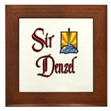 Sir Denzel Framed Tile