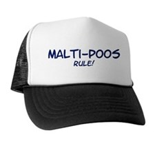 Malti-Poos Rule Trucker Hat