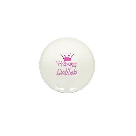Princess Delilah Mini Button