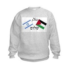 Israel and Palestine Peace Sweatshirt