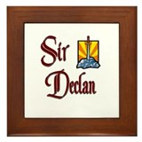 Sir Declan Framed Tile