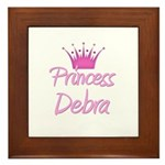 Princess Debra Framed Tile