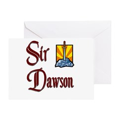 Sir Dawson Greeting Card