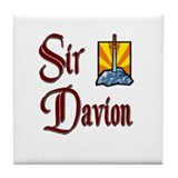 Sir Davion Tile Coaster