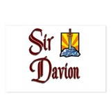 Sir Davion Postcards (Package of 8)