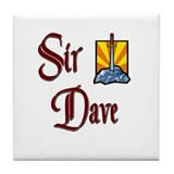 Sir Dave Tile Coaster