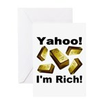 Yahoo! I'm Rich! Greeting Card