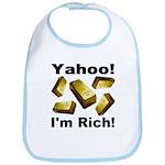 Yahoo! I'm Rich! Bib