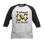 Yahoo! I'm Rich! Kids Baseball Jersey