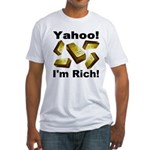 Yahoo! I'm Rich! Fitted T-Shirt