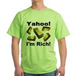 Yahoo! I'm Rich! Green T-Shirt
