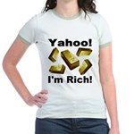 Yahoo! I'm Rich! Jr. Ringer T-Shirt