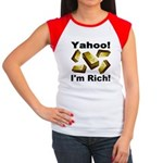 Yahoo! I'm Rich! Women's Cap Sleeve T-Shirt