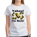 Yahoo! I'm Rich! Women's T-Shirt