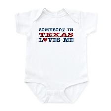 Somebody in Texas Loves Me Infant Bodysuit