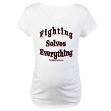 Fighting Solves Everything Shirt