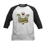 Girls Love Camping Tee