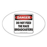 Broadcasters Oval Decal