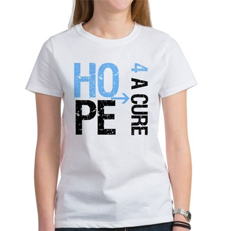Hope Cure Prostate Cancer Women's T-Shirt