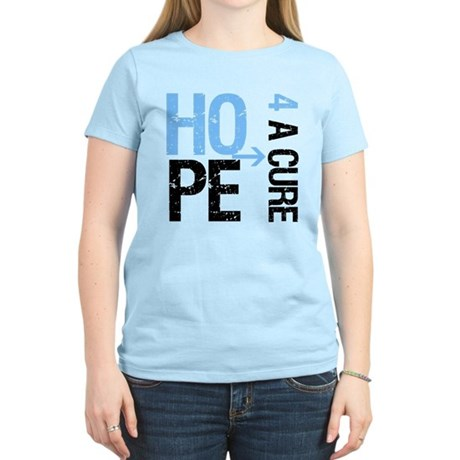Hope Cure Prostate Cancer Women's Light T-Shirt
