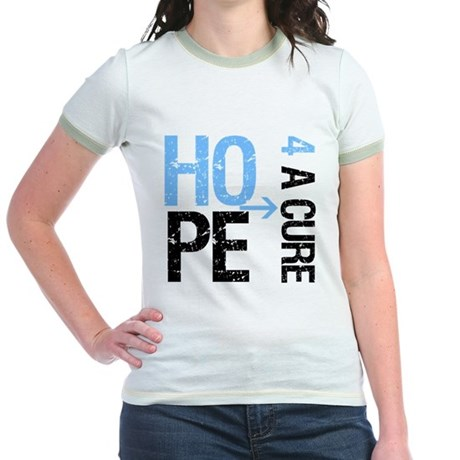 Hope Cure Prostate Cancer Jr. Ringer T-Shirt