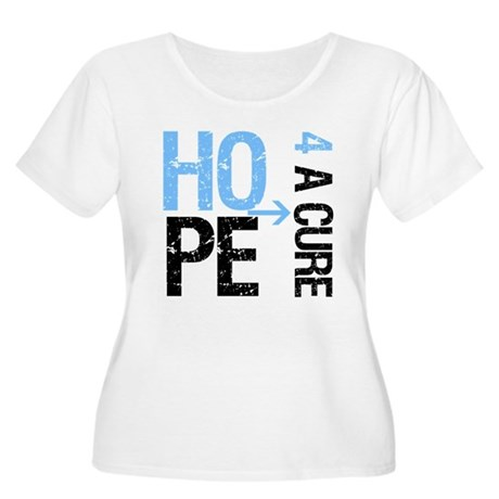 Hope Cure Prostate Cancer Women's Plus Size Scoop