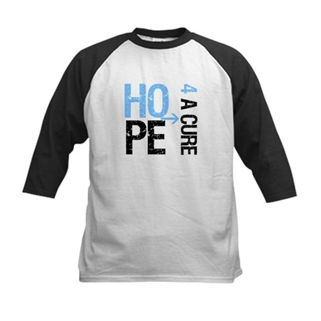 Hope Cure Prostate Cancer Kids Baseball Jersey