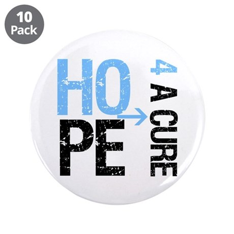 Hope Cure Prostate Cancer 3.5&quot; Button (10 pack)