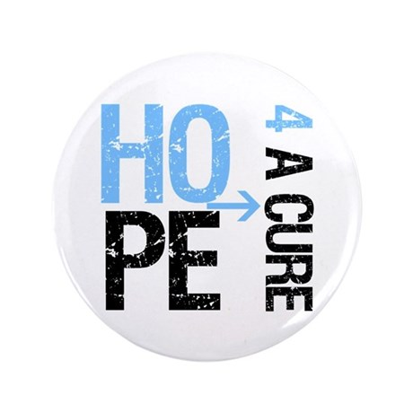 Hope Cure Prostate Cancer 3.5&quot; Button (100 pack)