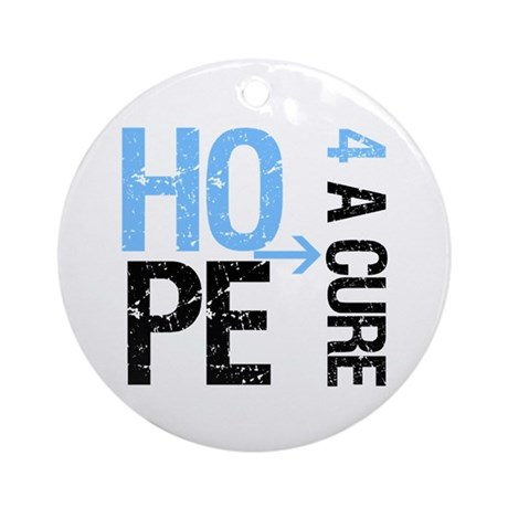 Hope Cure Prostate Cancer Ornament (Round)