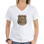 Lighthouse Police Women's V-Neck T-Shirt