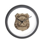 Lighthouse Police Wall Clock