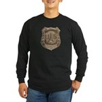 Lighthouse Police Long Sleeve Dark T-Shirt