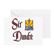 Sir Dandre Greeting Card
