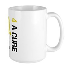 Hope Cure ChildhoodCancer Mug