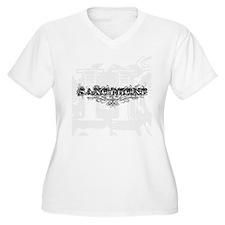Saxophone Tattoo T-Shirt