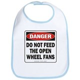 Open Wheel Fans Bib