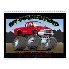 Off-Road Art Wall Calendar