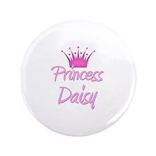 """Princess Daisy 3.5"""" Button"""
