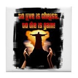 To live is Christ! Tile Coaster