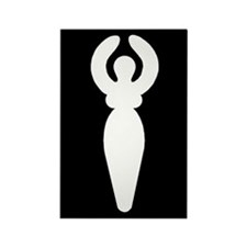 Goddess Rectangle Magnet (10 pack)