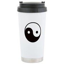 Ying Yang Ceramic Travel Mug